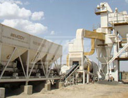 Batch Mix Asphalt Plant in Guyana