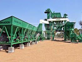 Batch Mix Asphalt Plant in Kenya