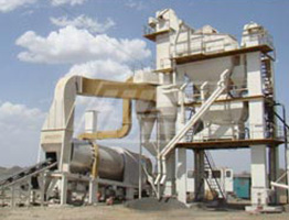 Batch Mix Asphalt Plant in Malawi