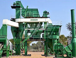 Batch Mix Asphalt Plant in Nigeria