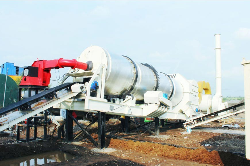 Double Drum and Counter Flow Asphalt Plant in Nigeria