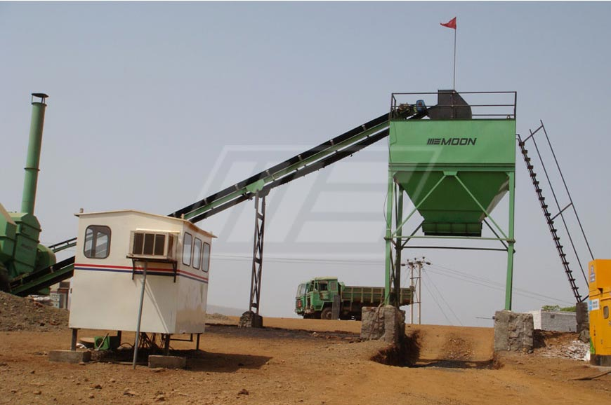 Double Drum and Counter Flow Asphalt Plant in Rwanda