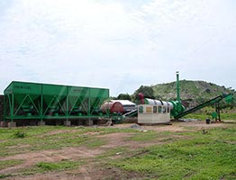 Asphalt Drum Mix Plant in Ivory Coast