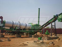 Asphalt Drum Mix Plant in Malawi