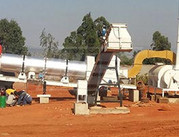 Asphalt Drum Mix Plant in South Africa