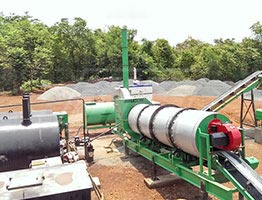 Drum Mix Asphalt Plant in Kenya