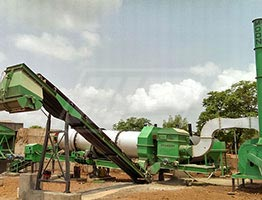 Drum Mix Asphalt Plant in South Africa