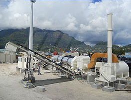 Portable Drum Mix Asphalt Plant in Guyana