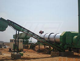 Portable Drum Mix Asphalt Plant in Kenya