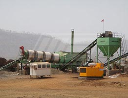 Portable Drum Mix Asphalt Plant in Nigeria