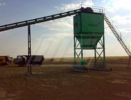 Portable Drum Mix Asphalt Plant in South Africa