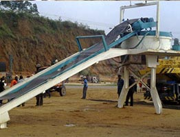 Mobile Asphalt Plant in Ivory Coast