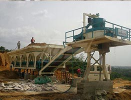 Mobile Concrete Batching Plant in Ethiopia | Concrete Batching Plant Manufacturers