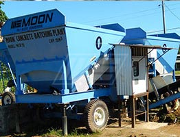 Mobile Concrete Batching Plant in Guyana