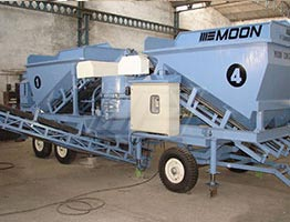 Mobile Concrete Batching Plant in Ivory Coast