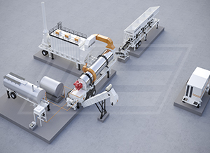 Asphalt Counter Flow Mix Plant